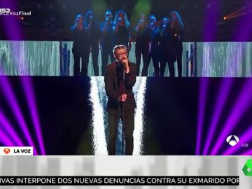 Esta es la espectacular actuación de Andrés cantando 'When a man loves a woman' que le convirtió en ganador de 'La Voz'