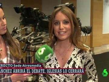 La vicesecretaria del PP, Andrea Levy