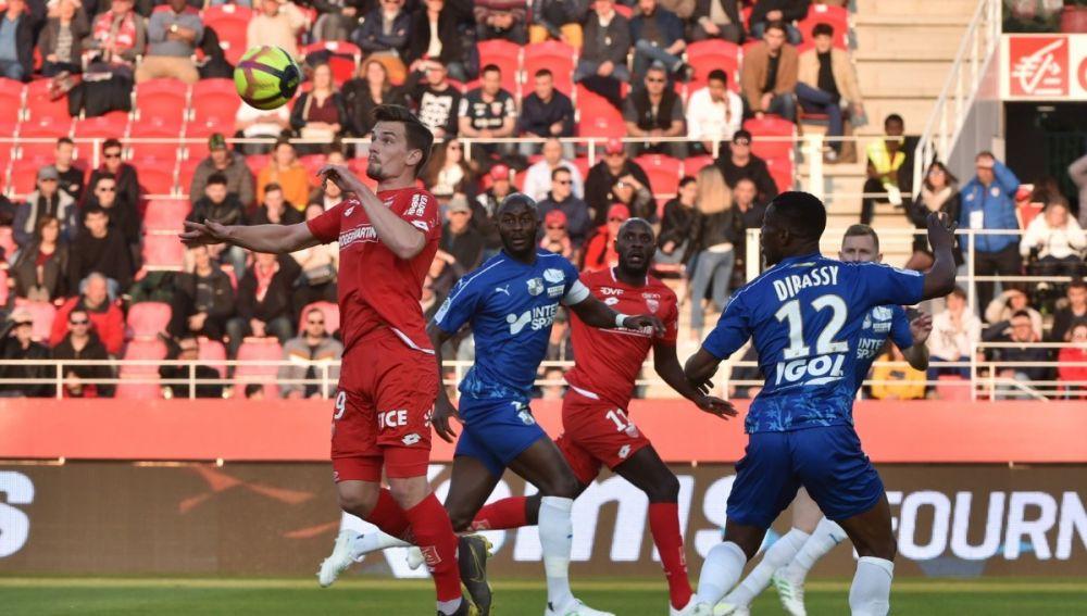 Imagen del Dijon vs Amiens de la Ligue 1