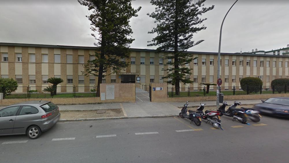Vista del Colegio concertado María Auxiliadora, en Jerez de la Frontera, Cádiz.