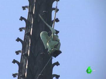 Estatuas de la catredal de Notre Dame
