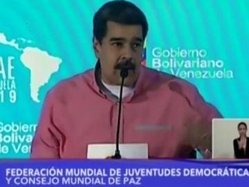 """Nicolás Maduro llamando """"fascista"""" a Bolsonaro"""