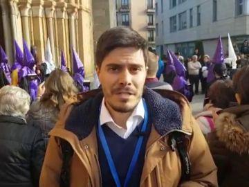 El periodista David Junquera