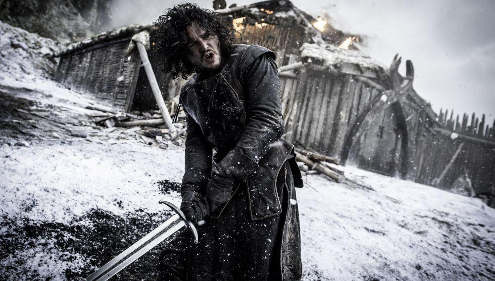 Kit Harington, como Jon Snow, en 'Juego de Tronos'