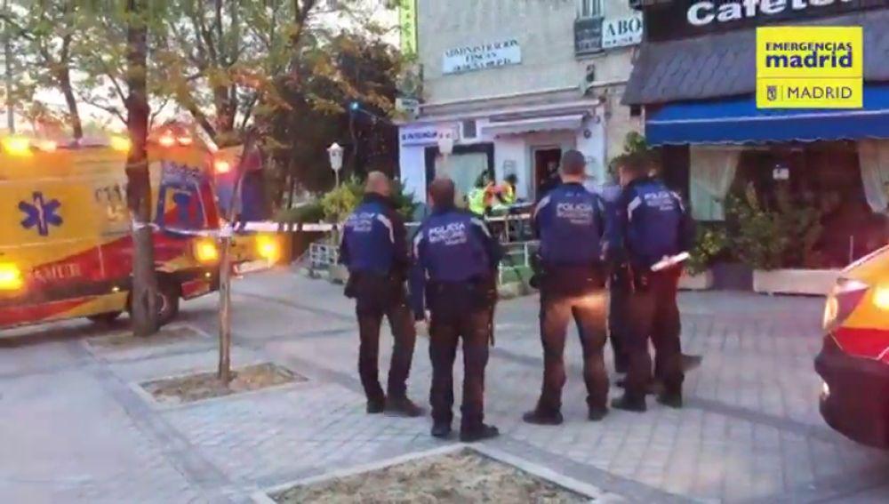 Herido muy grave por arma de fuego un hombre de 28 años en un local de copas en Madrid