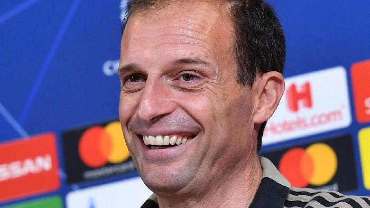 El entrenador de la Juventus, Massimiliano Allegri.