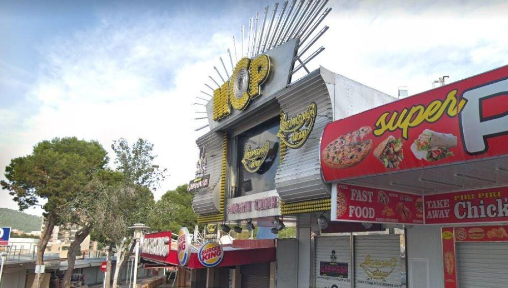 Discoteca Banana's en Punta Ballena
