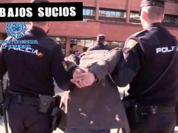 Momento de la detención del 'canibal de Ventas'