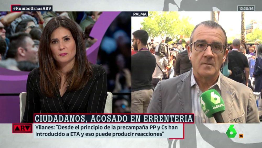 """Juan Pedro Yllanes (Unidas Podemos): """"PP y Ciudadanos han introducido a ETA en campaña y esto puede provocar reacciones como la de Errenteria"""""""