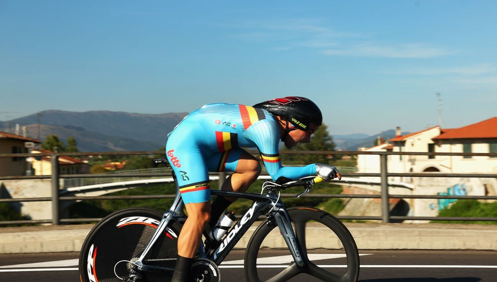 El ciclista belga Victor Campenaerts