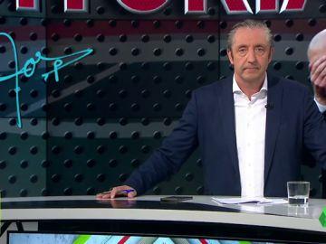 """Josep Pedrerol: """"Mucho ánimo Zidane, no te cortes. El madridismo espera de ti mano dura"""""""