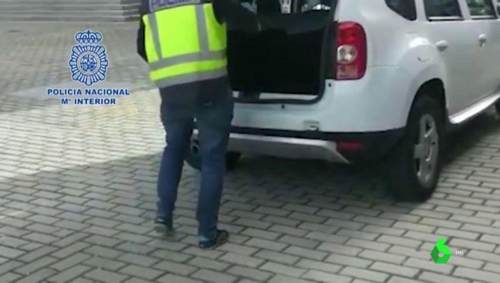 Localizan 150 kilos de cocaína ocultos en varios coches en la estación de Atocha