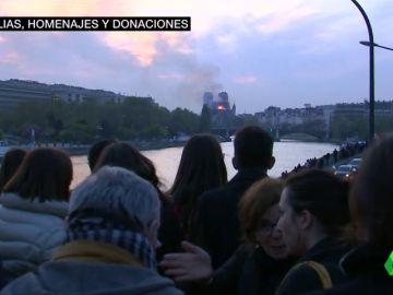 """Duelo en Francia por el incendio que ha asolado Notre-Dame: """"Hay cosas que no recuperaremos jamás"""""""