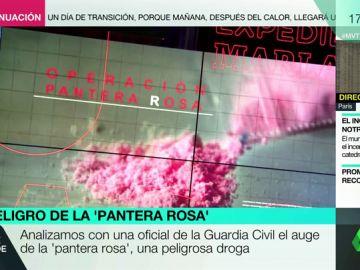Qué es y cómo funciona la 'pantera rosa', la peligrosa 'droga de la élite' que preocupa a la Guardia Civil