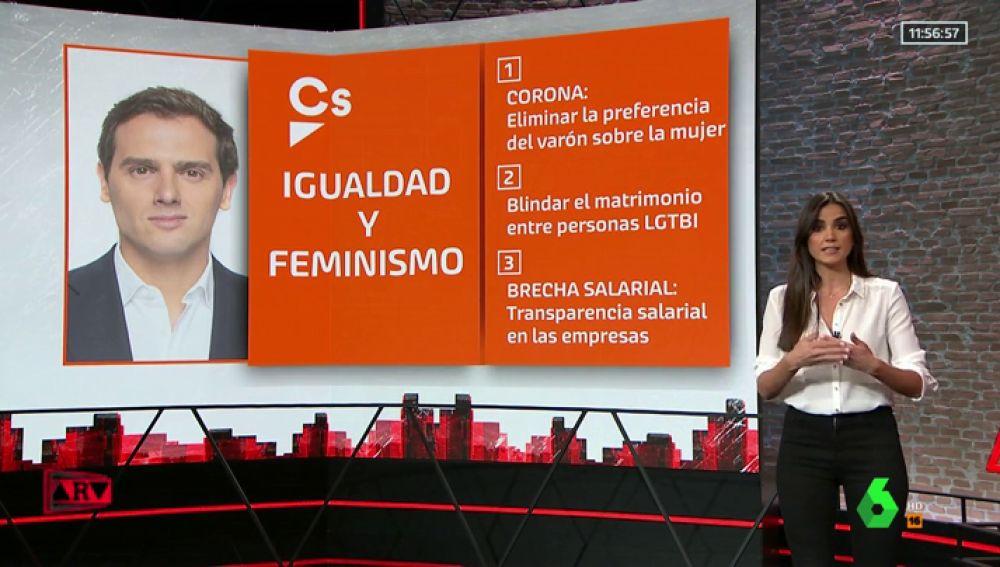 Reformar el código penal o controlar la brecha salarial en las empresas: las medidas que proponen los partidos en feminismo e igualdad