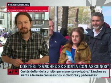 """Pablo Iglesias responde a las declaraciones de Juan José Cortes: """"Parece que decir gilipolleces en campaña tiene premio"""""""