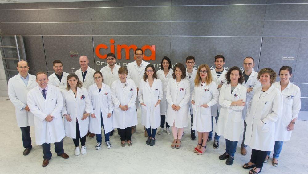 Investigadores del Cima y de la Clínica Universidad de Navarra