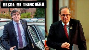Carles Puigdemont y Quim Tora