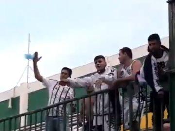 Hinchas del Figueirense se mofan del accidente aéreo del Chapecoense