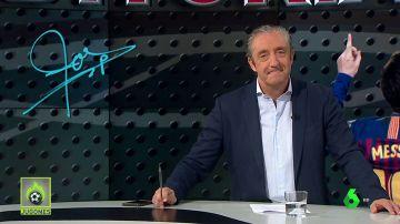 "Josep Pedrerol: ""Messi, no te resfríes"""
