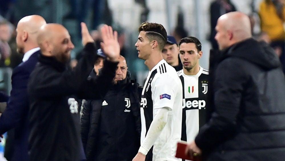 Cristiano Ronaldo, tras caer eliminado en Champions