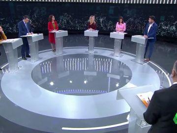 Los momentos más tensos del debate a seis