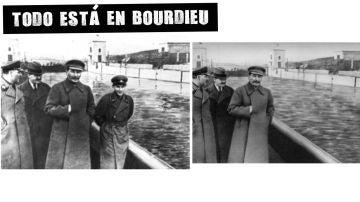 Nikolái Yezhov, jefe de la NKVD, fue eliminado de las fotografías en las que aparecía junto a Stalin
