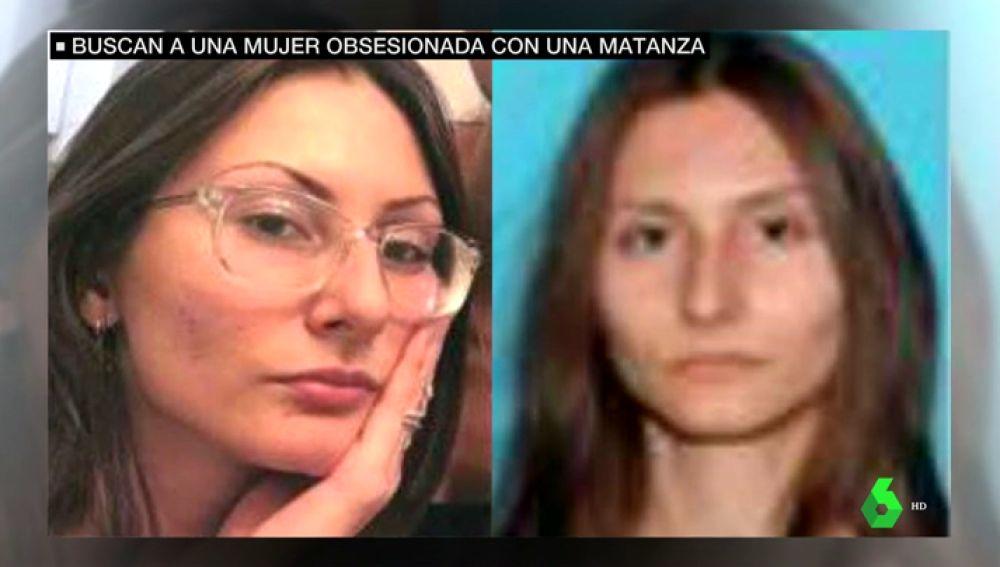 Alerta en EEUU: el FBI busca a una mujer armada obsesionada con la masacre de Columbine de hace 20 años