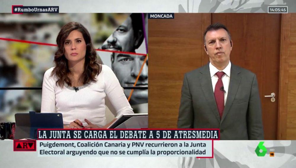 """Joaquim Bosch analiza la decisión de la Junta Electoral sobre el debate de Atresmedia: """"Interfiere en la libertad de Información"""""""