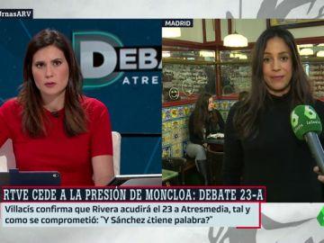 """Begoña Villacís: """"La televisión pública tiene que estar al servicio de todos los españoles, no de Pedro Sánchez"""""""