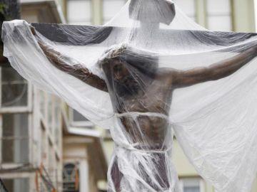 La procesión del Cristo de los Navegantes de Ferrol