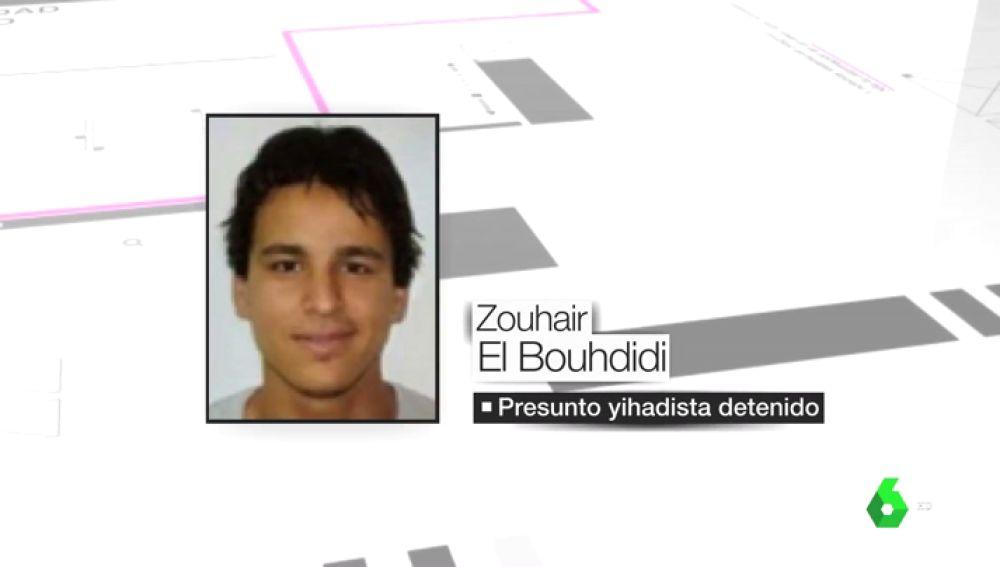 El yihadista detenido, Zouhair El Bouhdidi.
