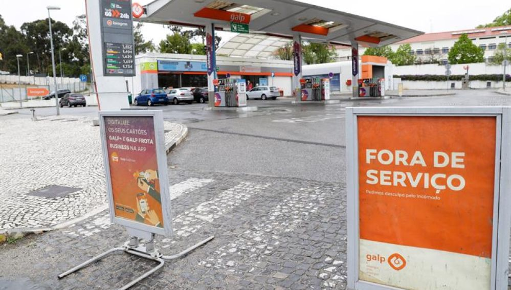 Huelga de transportistas en Portugal