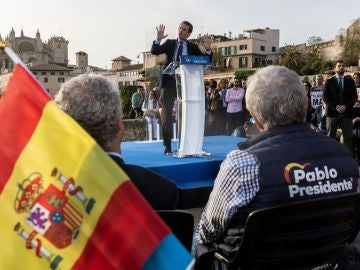 El presidente nacional del Partido Popular y candidato a la Presidencia del Gobierno, Pablo Casado