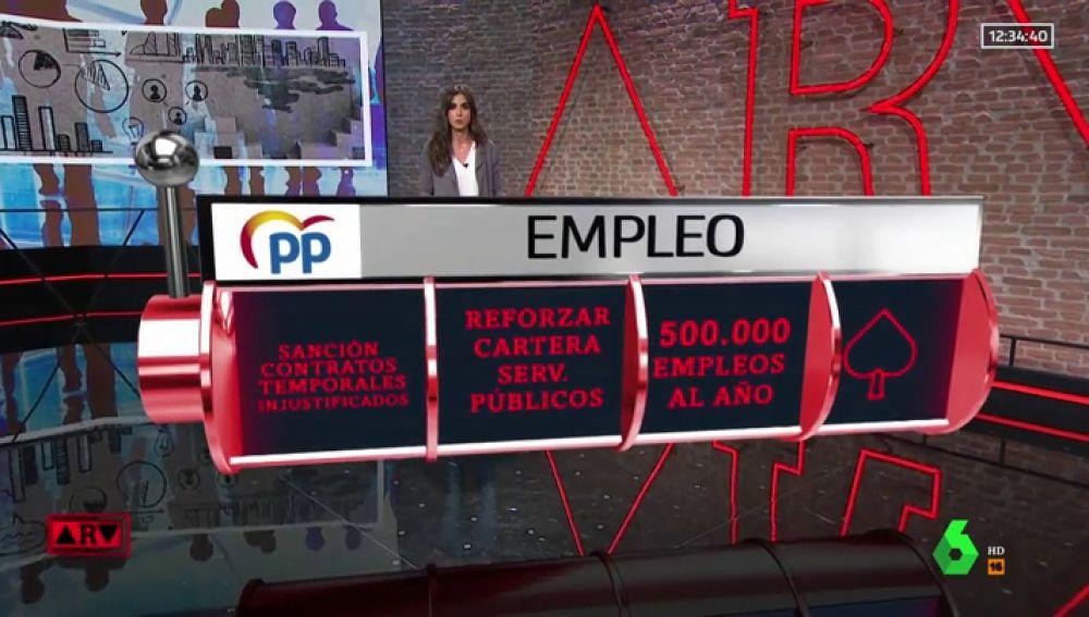 Usamos la realidad aumentada para analizar las propuestas de los partidos en materia de empleo