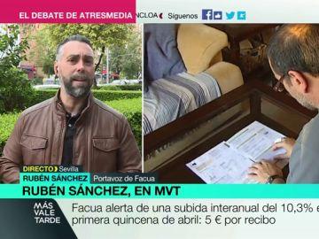Rubén Sánchez, en Más Vale Tarde