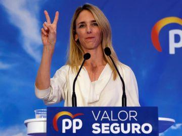 La candidata del PPC por Barcelona a las generales, Cayetana Álvarez de Toledo