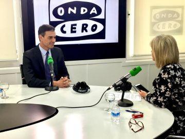 Pedro Sánchez en Julia en la onda