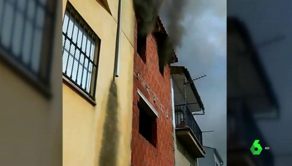 Incendio en Siles, Jaén