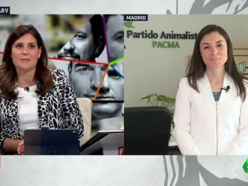 """Laura Duarte (Pacma): """"El resto de partidos no trabaja para que las leyes protejan a los animales"""""""