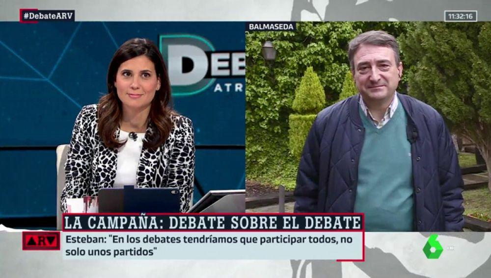 """Aitor Esteban (PNV), sobre los debates electorales: """"El PSOE se ha metido en un jardín innecesariamente"""""""
