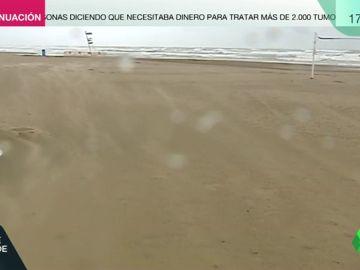El vídeo que muestra los impactantes efectos del temporal en Valencia