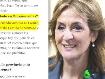 Entrevista en La Voz de Galicia a la candidata de Vox por Ourense