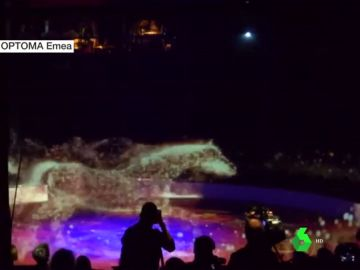 Hologramas en un circo