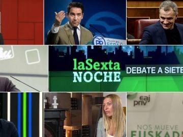 Debate a siete en laSexta Noche