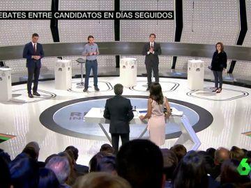 Debate en Atresmedia en 2015
