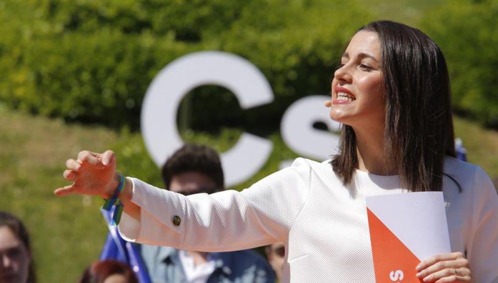 La número uno de Cs por Barcelona, Inés Arrimadas