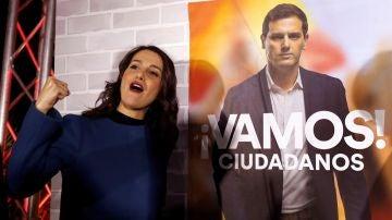Inés Arrimadas (Ciudadanos) inicia la campaña electoral