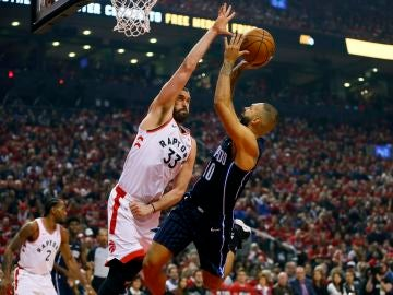 Marc Gasol, en acción ante Orlando Magic