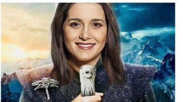 Fotomontaje de Inés Arrimadas vestida de Daenerys Targaryen.